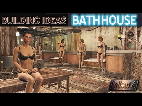 Bathhouse • Fallout 4 Settlement Building Ideas