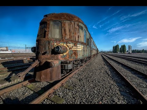 An Abandoned Orient Express Train Leaves Us In Awe As It Slo