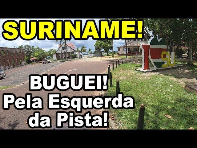 Suriname, miscigenação pura | Viagem de Moto Solo pela América do Sul