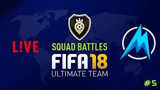 Fifa 18 - squad battles - road to top 100! #5