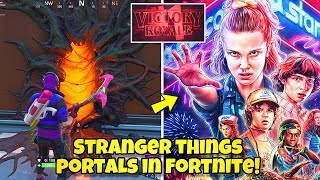*NEW* Fortnite Stranger Things PORTALS, EVENT & SKINS! Fortnite Battle Royale (NEW FORTNITE PORTALS)