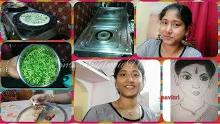 MORNING 8 TO 10 ROUTINE|HEALTHY BREAKFAST|CLEANING ROUTINE|CLEAN GREASY UTENSILS#SMARTTELUGUHOUSEWIF