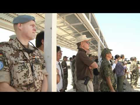 Dignitaries Visit Kabul Military Training Center