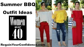 Summer BBQ Outfit Ideas For Women Over 40 - Regain Your Confidence