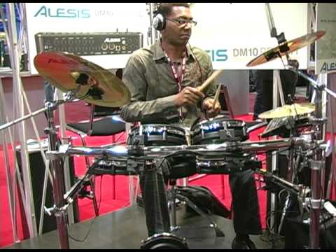 alesis dm10 pro kit summer namm demo youtube. Black Bedroom Furniture Sets. Home Design Ideas