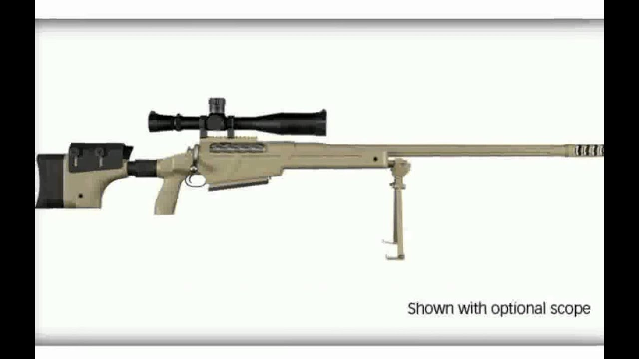 how to make a simple bolt action rifle