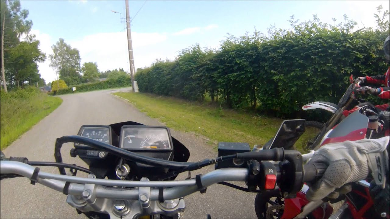 Top-Speed DT125 - CR125 - YouTube