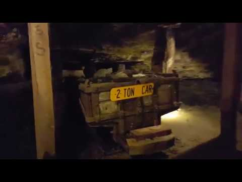 Entering The Beckley Exhibition Coal Mine