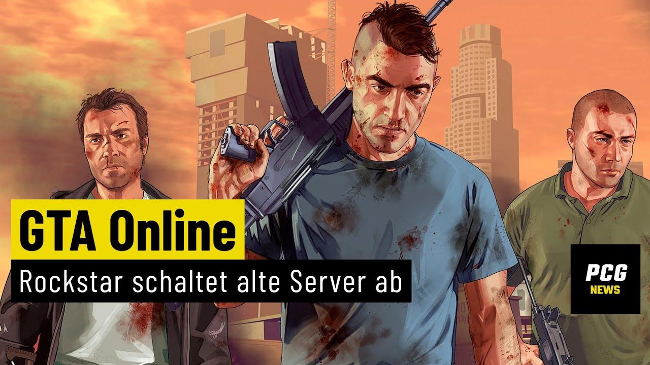 GTA Online: Alte Konsolen-Server werden abgeschaltet | News