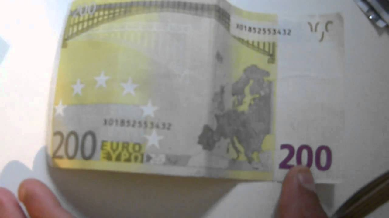 200 euro schein