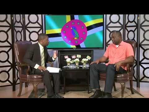 Prime Minister Skerrit interviewed in Antigua by ABS Televis