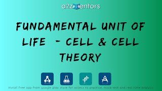 9th-B-FU-001 Fundamental Unit of Life - Cell & Cell Theory.mp4