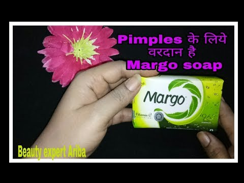 Margo soap Review hindi me ll Margo soap for pimples skin