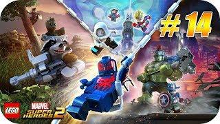 LEGO Marvel Super Heroes 2 - Gameplay Español - Capitulo 14 - Sorpresa Simbionte [Xbox One X]