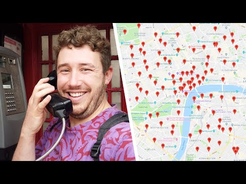 I Called Every Payphone In London (But First I Had To Go Get All The Numbers)