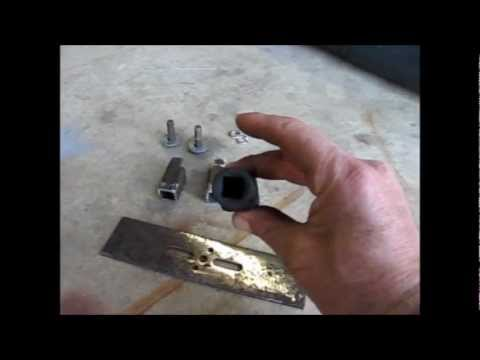 Homemade Chrysler Fuel Pump Module Removal Tool
