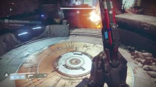Destiny 2 - The Inverted Spire Strike Gameplay Striker Titan