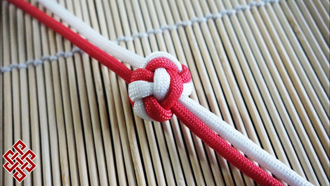 How to Tie a Double Diamond Knot Tutorial