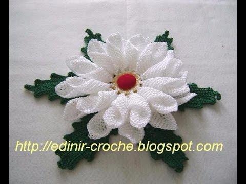 Crochet Patterns For Free Crochet Roses 1076 Youtube