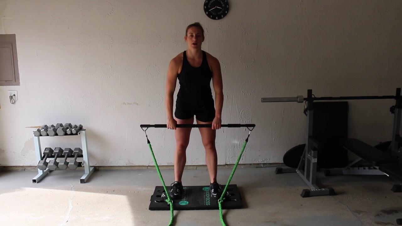 Lower body home workout best gym bodyboss