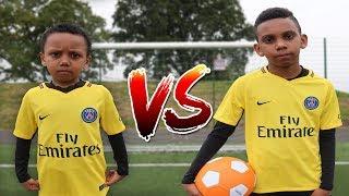 Neymar Jr vs Cavani Football Challenge Who Should Take PSG Penalties?