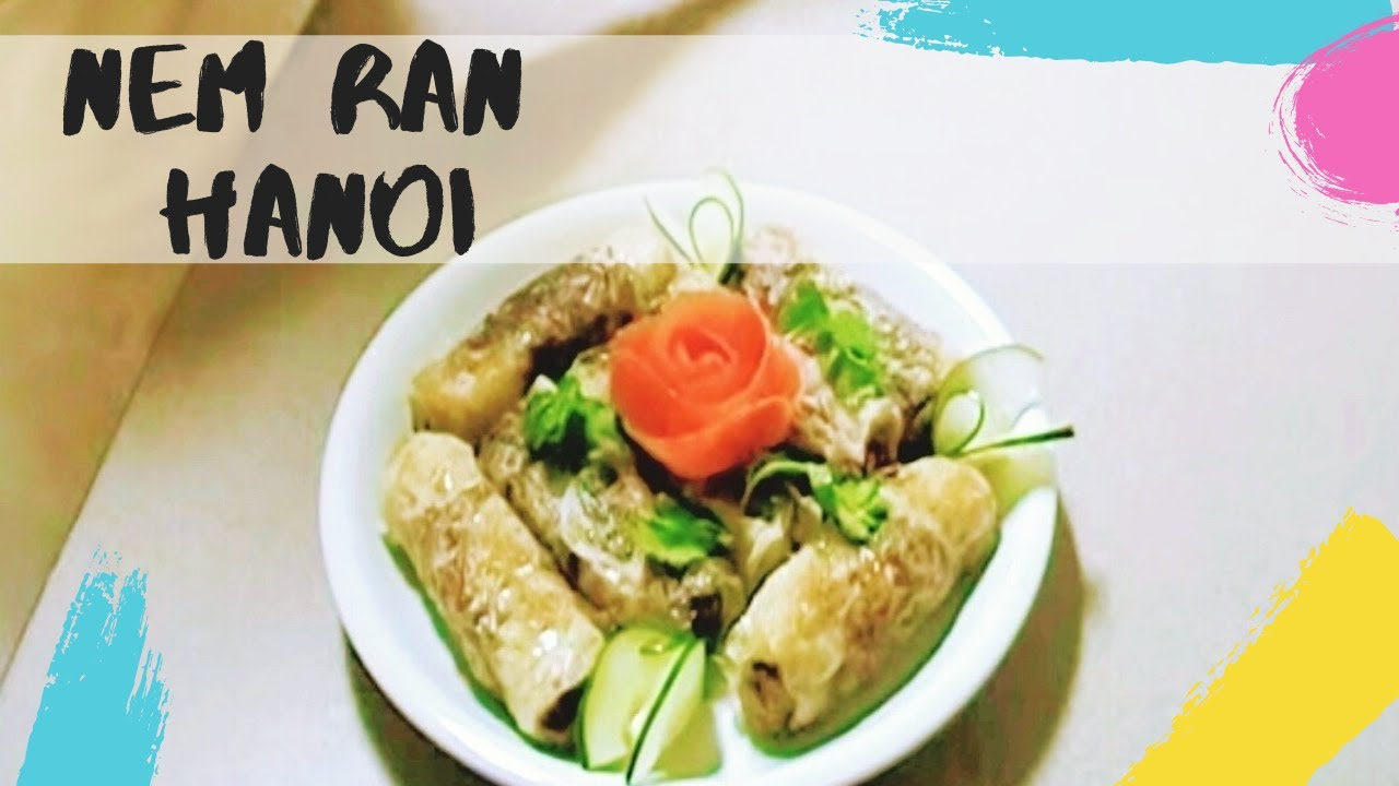 How to make Vietnamese fried spring rolls Nem r225n H224 NiVietnamese Fried Spring Rolls