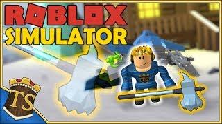 Dansk Roblox | Snow Shoveling Simulator - Hammer SMASH!