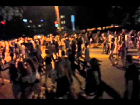 Party Turns To Riot In Newark, Delaware
