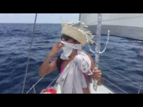 Pacific Ocean Equator Crossing Ceremony || COUCHSAILORS Sailing Video streaming vf