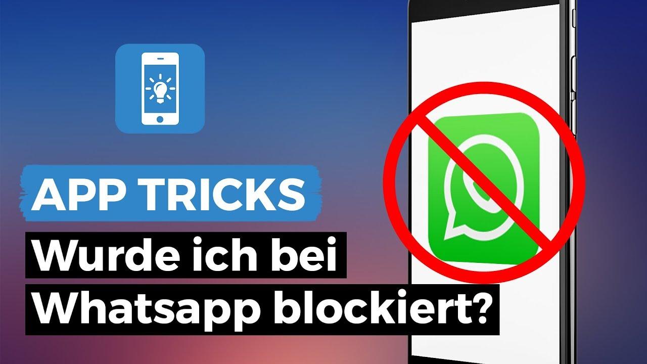 Whatsapp blockierter kontakt schreibt