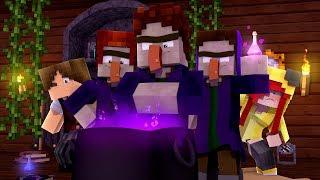 Minecraft: DISFARCE DE BRUXA - (Esconde-Esconde com Mobs)