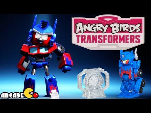 Angry Birds Transformers: Telepods Optimus Prime Auto ...