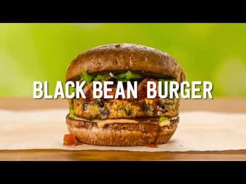 Wegmans Menu in Motion - Black Bean Burger
