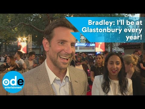 A Star Is Born: Bradley Cooper will attend Glastonbury every year!
