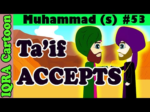 Ta'if Accepts Islam: Prophet Stories Muhammad (s) Ep 53 | Islamic Cartoon Video | Quran Stories