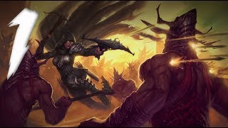 Diablo 3 Walkthrough - Act I - Part One (PC) Gameplay