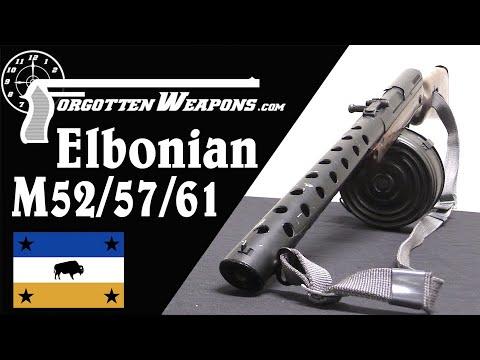 Elbonian M52/57/61 Paratrooper Carbine
