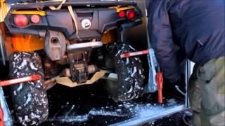 Алюминиевый прицеп для перевозки квадроциклов или снегоходов Prestige 3000 AL 5 V(Прицеп предназначен для перевозки двух единиц техники: квадроциклов или снегоходов. Полностью выполнен..., 2016-02-26T09:59:17.000Z)