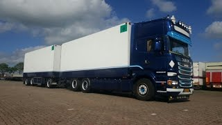 kleyn trucks scania r500 loud pipe and train horn