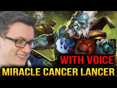 Miracle [With Voice] True Cancer Lancer Is Here Dota 2 thumbnail