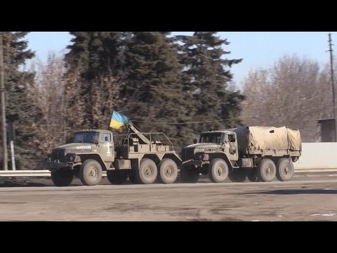 Ukraine Troops Retreat From Debaltseve