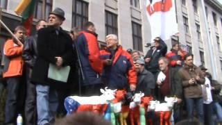 Polnische Milcherzeuger in Prag (dt. & poln.) 12.03.09
