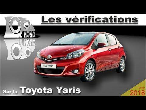Toyota Yaris (2011): vérifications et sécurité routière