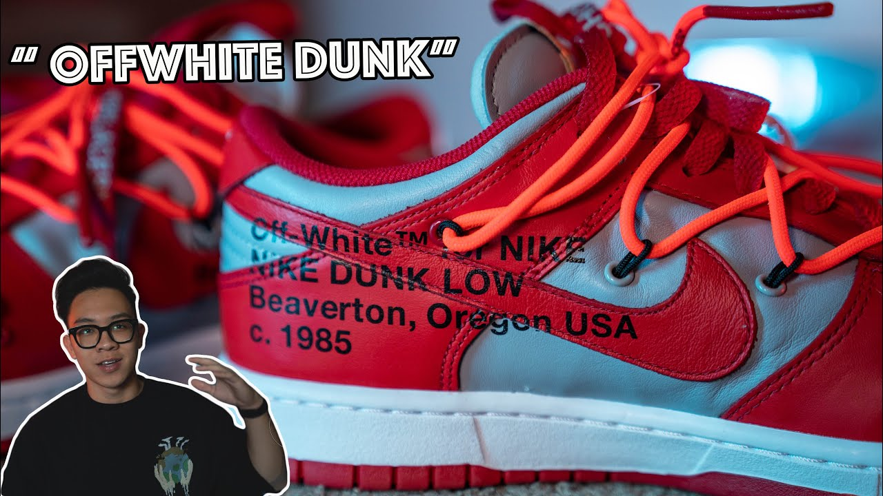 Review Nike Dunk Low OffWhite   Dòng giày hot nhất 2020