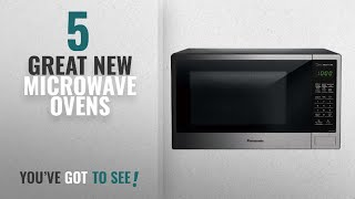 Top 10 Panasonic Microwave Ovens [2018]: Panasonic NN-SU696S Countertop Microwave Oven with Genius