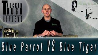 BlueParrott Bluetooth Headset vs. BlueTiger Bluetooth - Best Bluetooth for Truckers