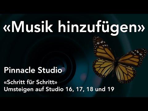 Musik hinzufügen in Pinnacle Studio  - Umsteigen auf Studio 16, 17, 18 und 19