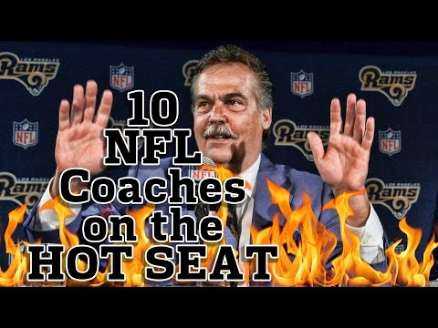 10 NFL Coaches On The Hot Seat In 2016