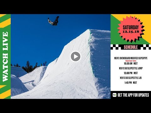 Day 3: 2018 Dew Tour Breckenridge – Men's SB Modified Superpipe & Men's Ski Slopestyle