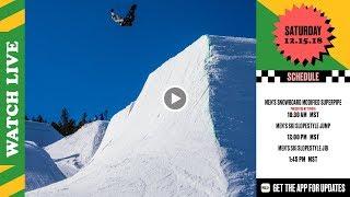 Day 3: 2018 Dew Tour Breckenridge – Men's SB Modified Superpipe & Men's Ski Slopestyle thumbnail
